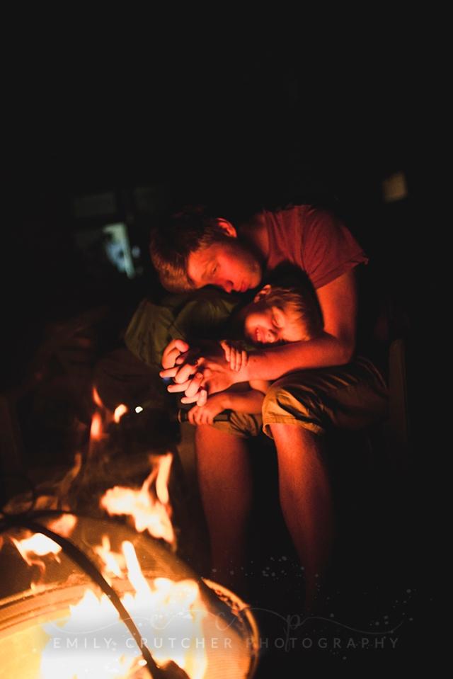 Emily Crutcher Photography personal blog september nights son partner love fire