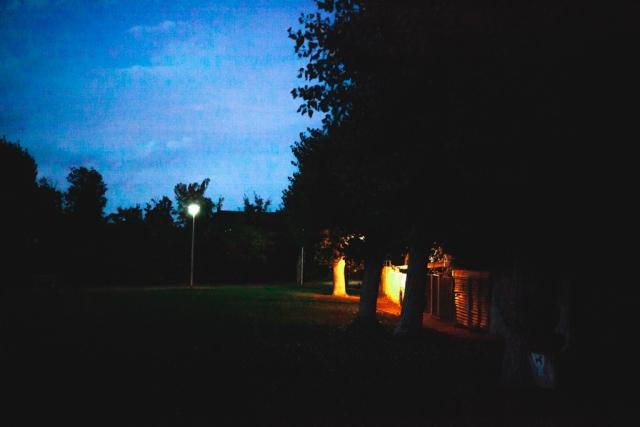 balmoral park gillingham at night kent photography